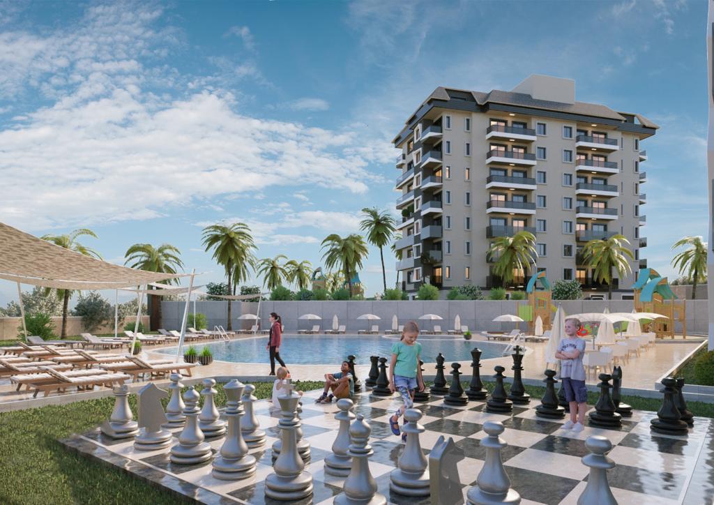 Стартовало строительство нового жилого комплекса в районе Авсаллар - Фото 12