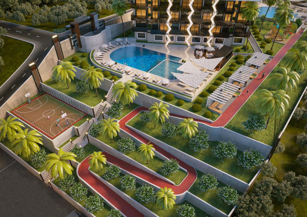 Стартовало строительство нового жилого комплекса в районе Авсаллар - Фото 13