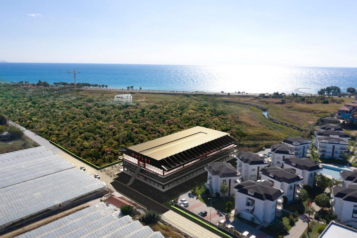 Коммерческие площади в LUNA BAZAAR OUTLET в полную собственность с гарантированным доходом
