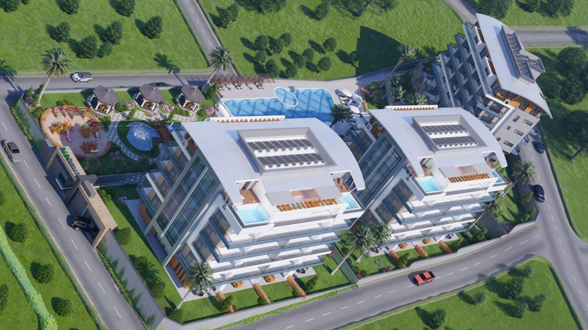Квартиры на этапе строительства в районе Каргыджак - Фото 3