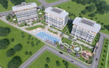 Квартиры на этапе строительства в районе Каргыджак