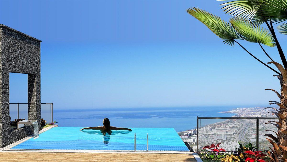 Современные виллы недалеко от моря с панорамным видом  - Фото 3