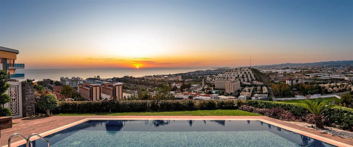 Современные виллы недалеко от моря с панорамным видом  - Фото 4