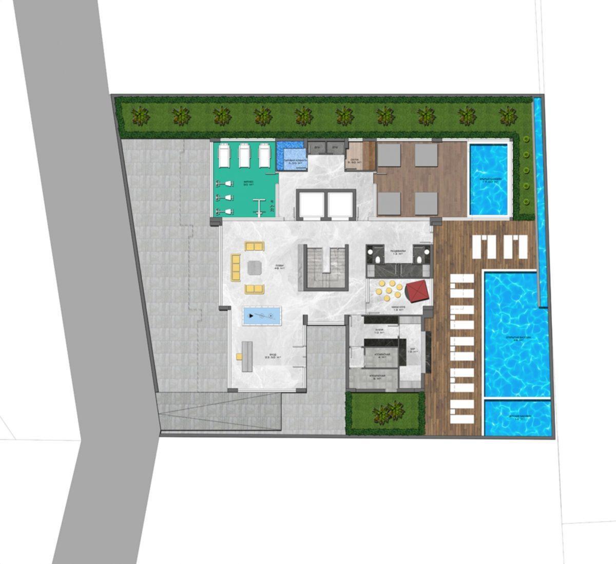 Стильный жилой комплекс с великолепной локацией в самом центре Алании - Фото 33