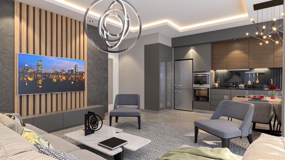 Жилой комплекс с концепцией 5 звездочного отеля в районе Каргыджак - Фото 13