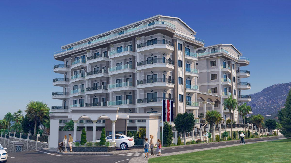 Жилой комплекс с концепцией 5 звездочного отеля в районе Каргыджак - Фото 5
