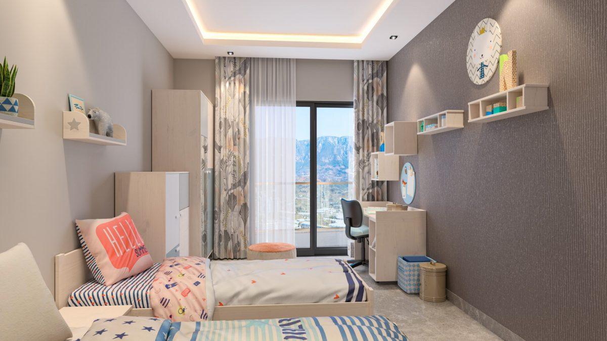 Жилой комплекс с концепцией 5 звездочного отеля в районе Каргыджак - Фото 18