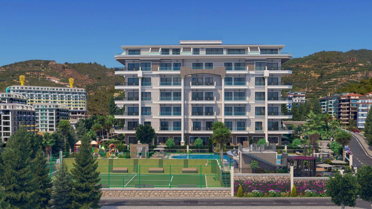 Жилой комплекс с концепцией 5 звездочного отеля в районе Каргыджак - Фото 3