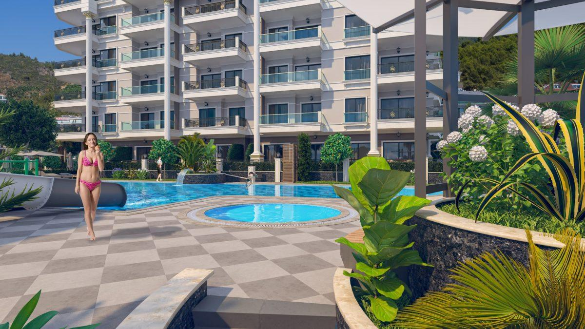 Жилой комплекс с концепцией 5 звездочного отеля в районе Каргыджак - Фото 7