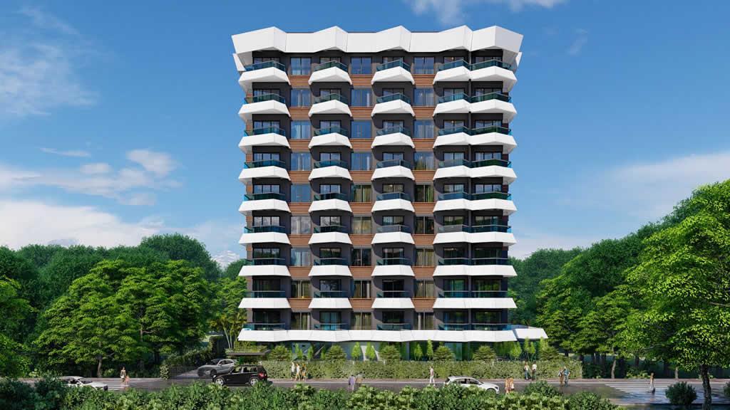 Инвестиционный и привлекательный комплекс в районе Махмутлар - Фото 2