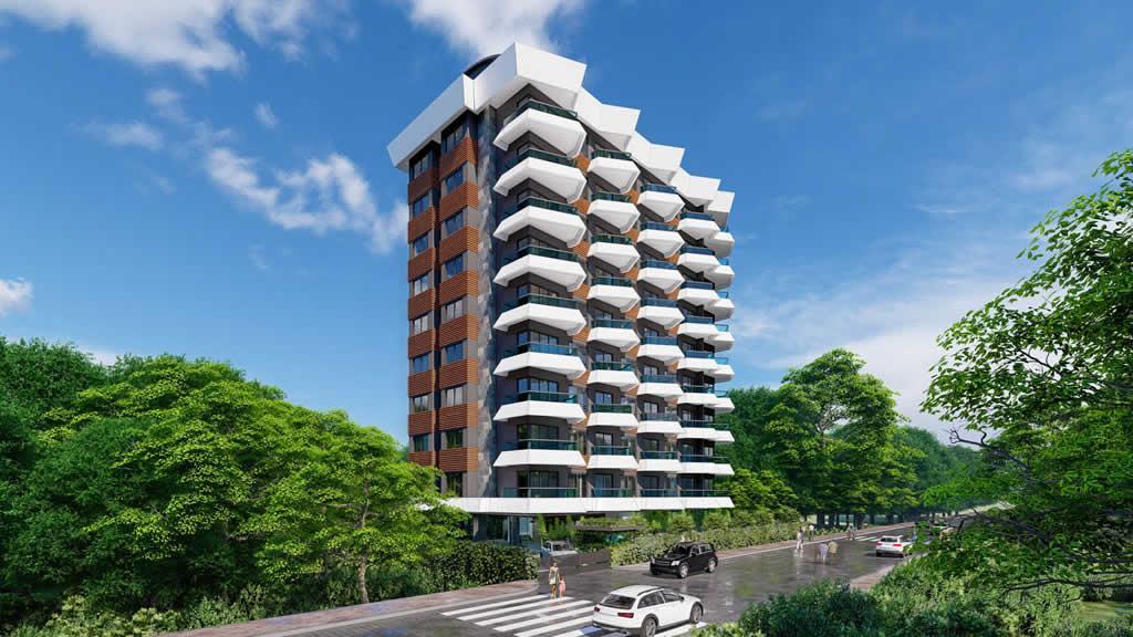 Инвестиционный и привлекательный комплекс в районе Махмутлар - Фото 4