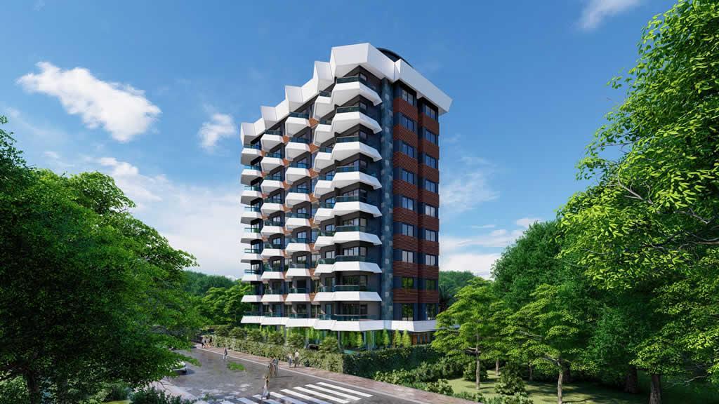 Инвестиционный и привлекательный комплекс в районе Махмутлар - Фото 5