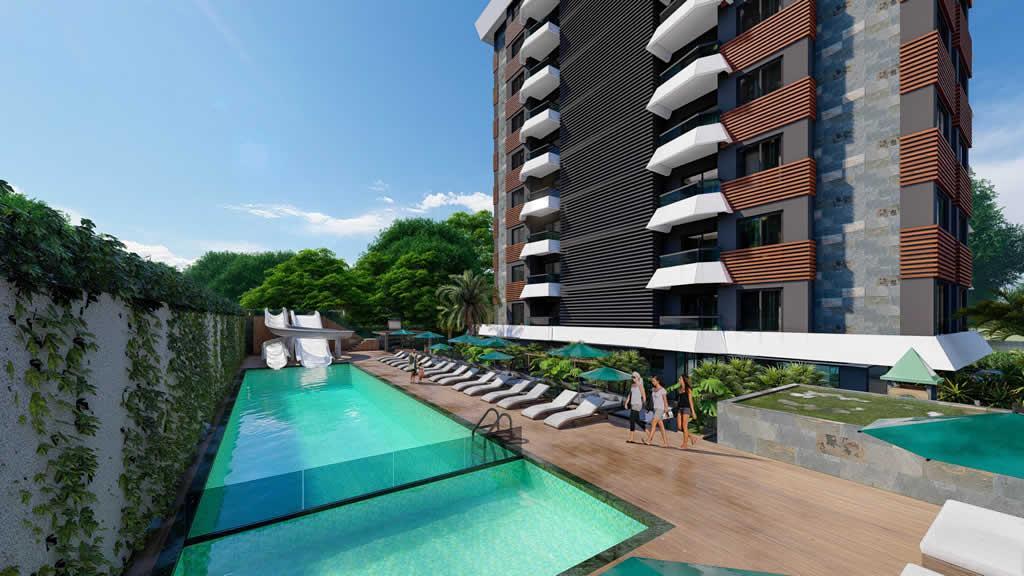 Инвестиционный и привлекательный комплекс в районе Махмутлар - Фото 3
