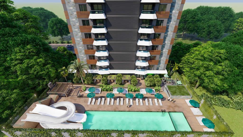 Инвестиционный и привлекательный комплекс в районе Махмутлар - Фото 7