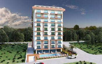 Жилой комплекс городского типа в районе Махмутлар