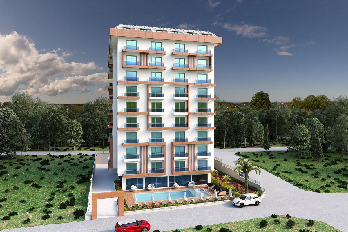 Жилой комплекс городского типа в районе Махмутлар - Фото 1