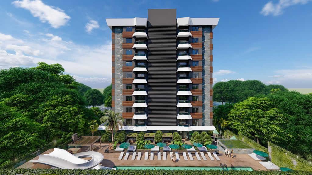 Инвестиционный и привлекательный комплекс в районе Махмутлар - Фото 1