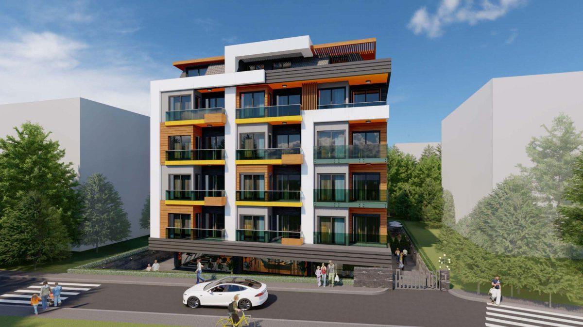 Стильный жилой комплекс с великолепной локацией в самом центре Алании - Фото 2