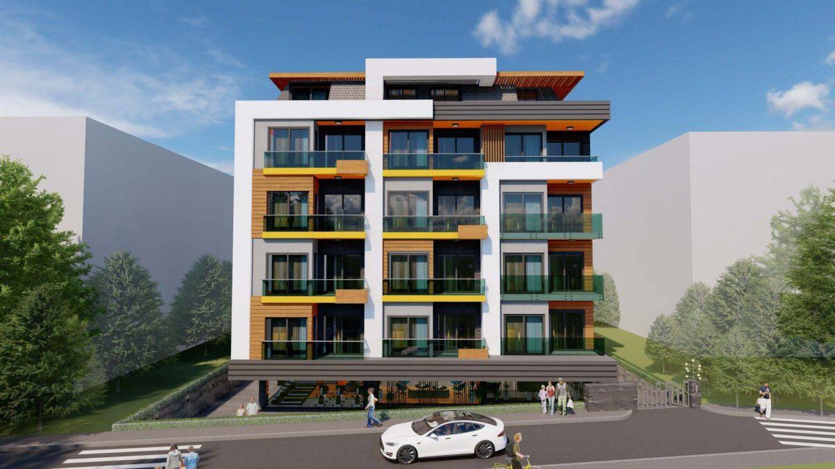 Стильный жилой комплекс с великолепной локацией в самом центре Алании - Фото 3