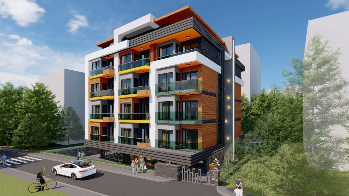 Стильный жилой комплекс с великолепной локацией в самом центре Алании - Фото 1