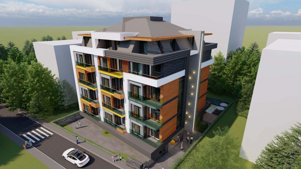 Стильный жилой комплекс с великолепной локацией в самом центре Алании - Фото 4