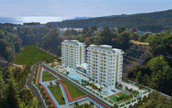 Новый жилой комплекс в районе Авсалар
