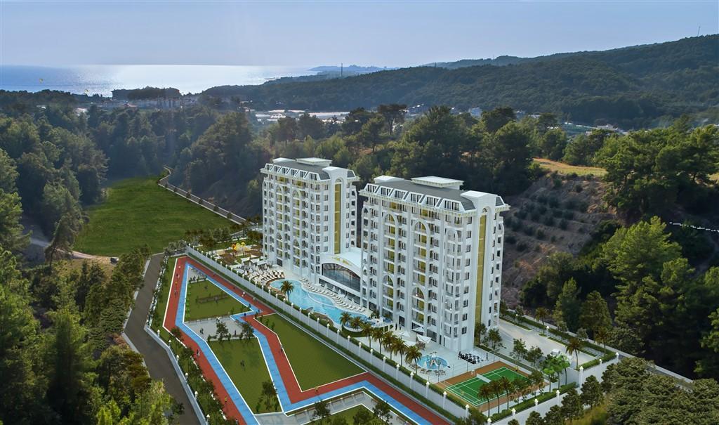 Новый жилой комплекс в районе Авсалар - Фото 1