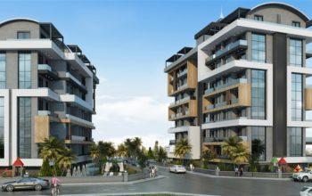 Строительство нового жилого комплекса в экологически чистом районе Авсаллар