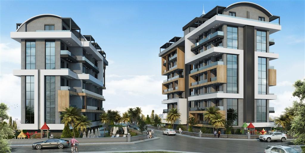 Строительство нового жилого комплекса в экологически чистом районе Авсаллар - Фото 1