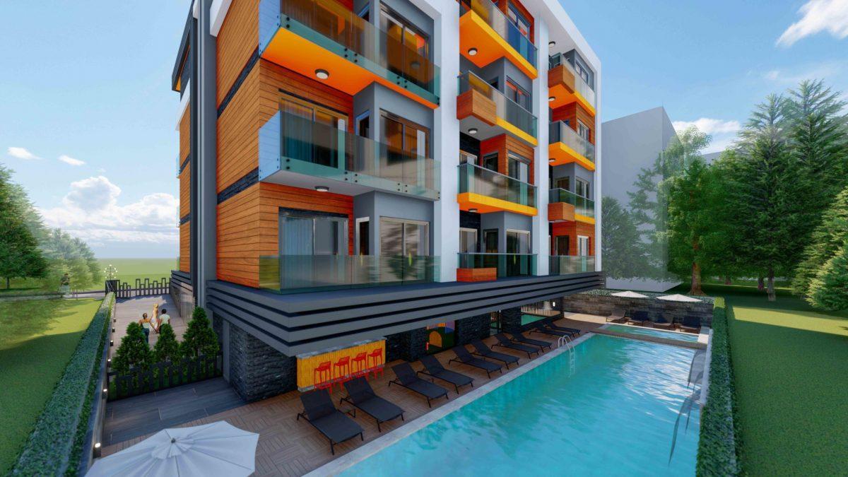 Стильный жилой комплекс с великолепной локацией в самом центре Алании - Фото 7