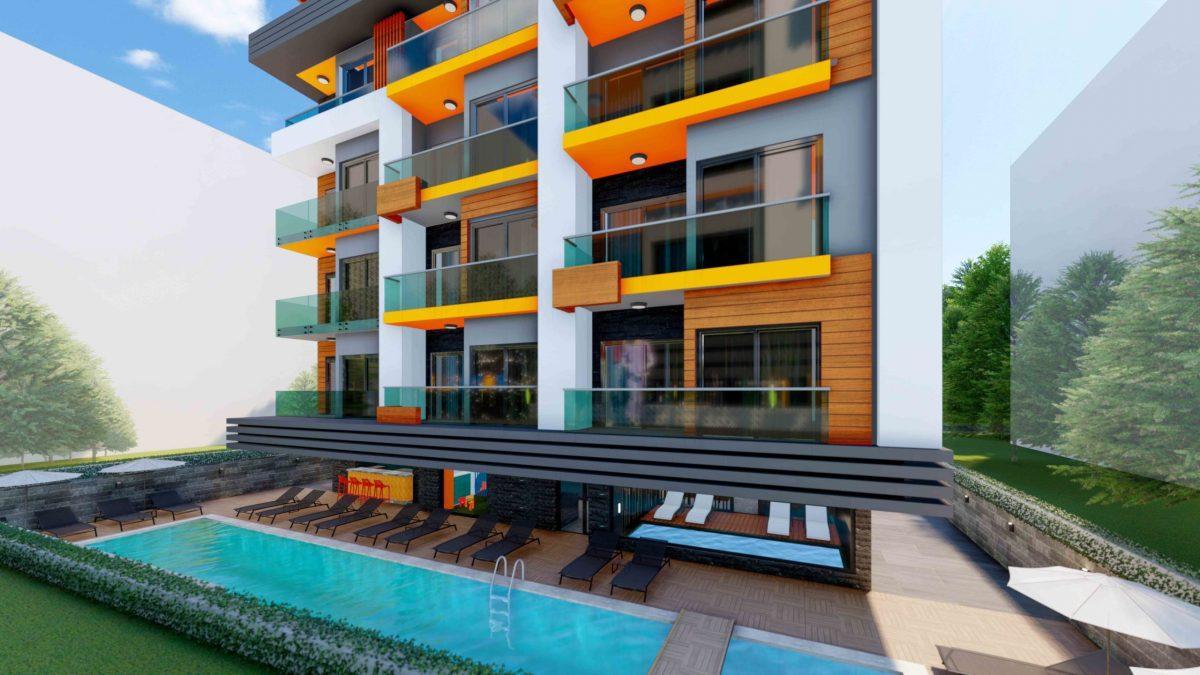 Стильный жилой комплекс с великолепной локацией в самом центре Алании - Фото 5