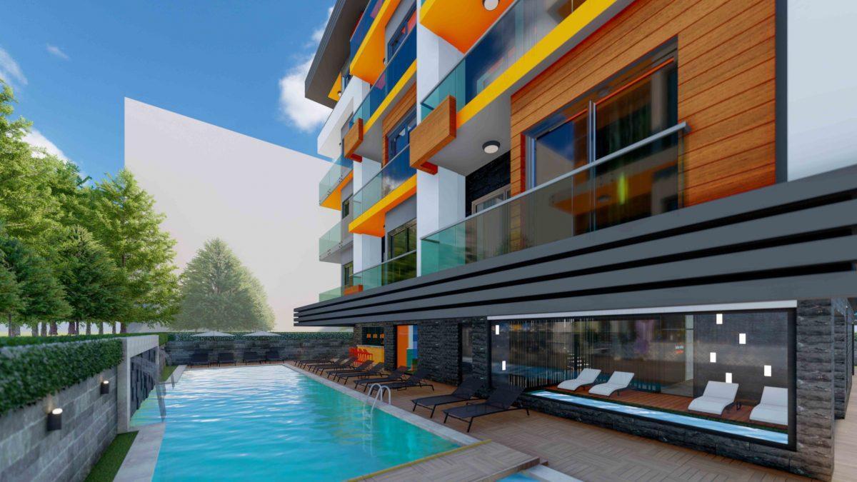 Стильный жилой комплекс с великолепной локацией в самом центре Алании - Фото 6