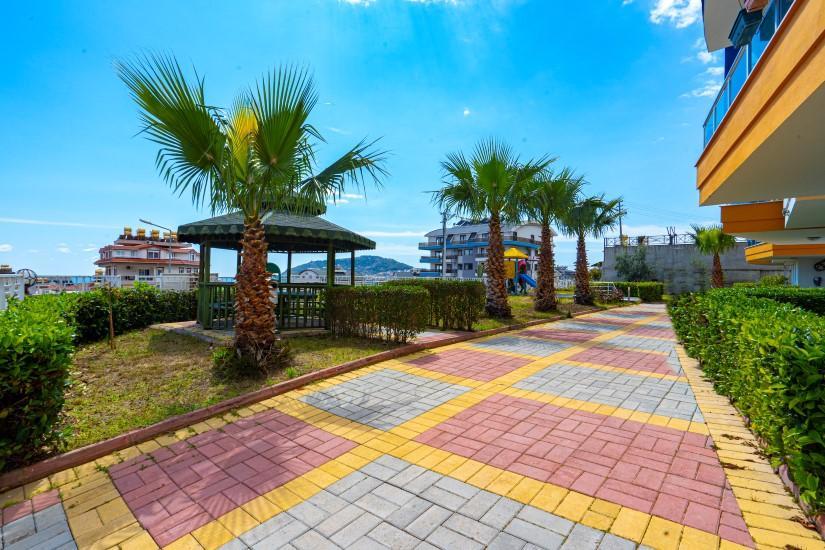 Садовый дуплекс 5+1 с видом на Средиземное море - Фото 4