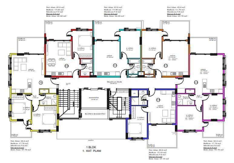 Масштабный жилой комплекс, состоящий из 10 квартирных блоков  - Фото 18