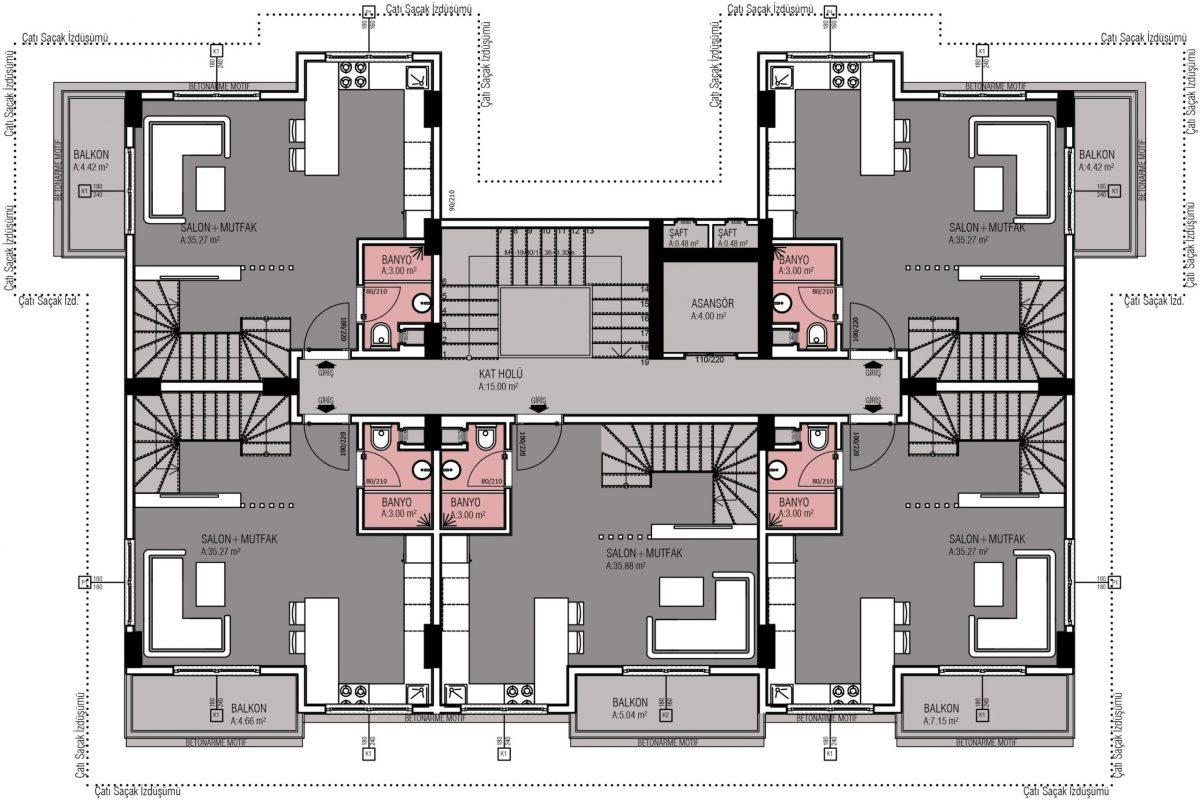 Жилой комплекс комфорт-класса в 50 метрах от моря - Фото 13