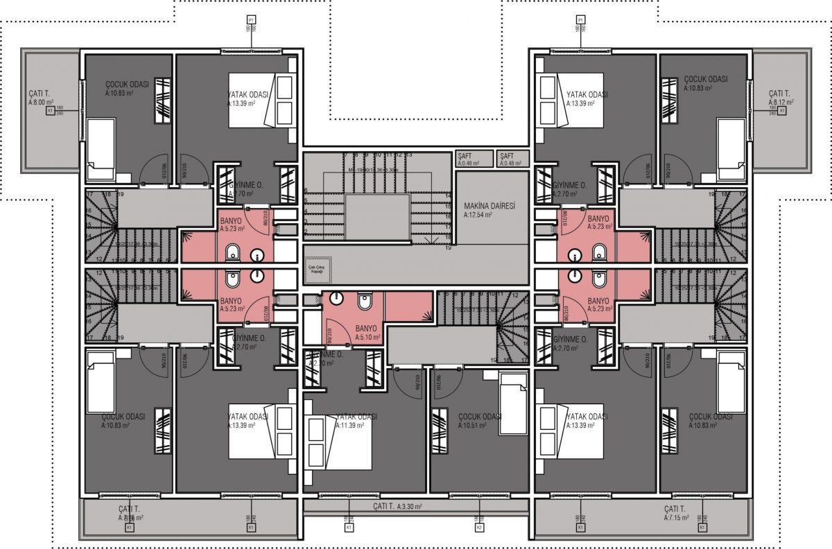 Жилой комплекс комфорт-класса в 50 метрах от моря - Фото 14