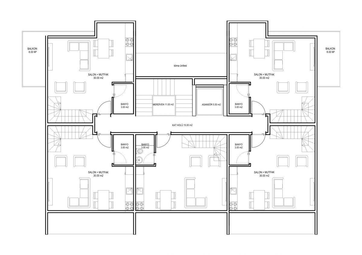 Жилой комплекс комфорт-класса в 50 метрах от моря - Фото 15