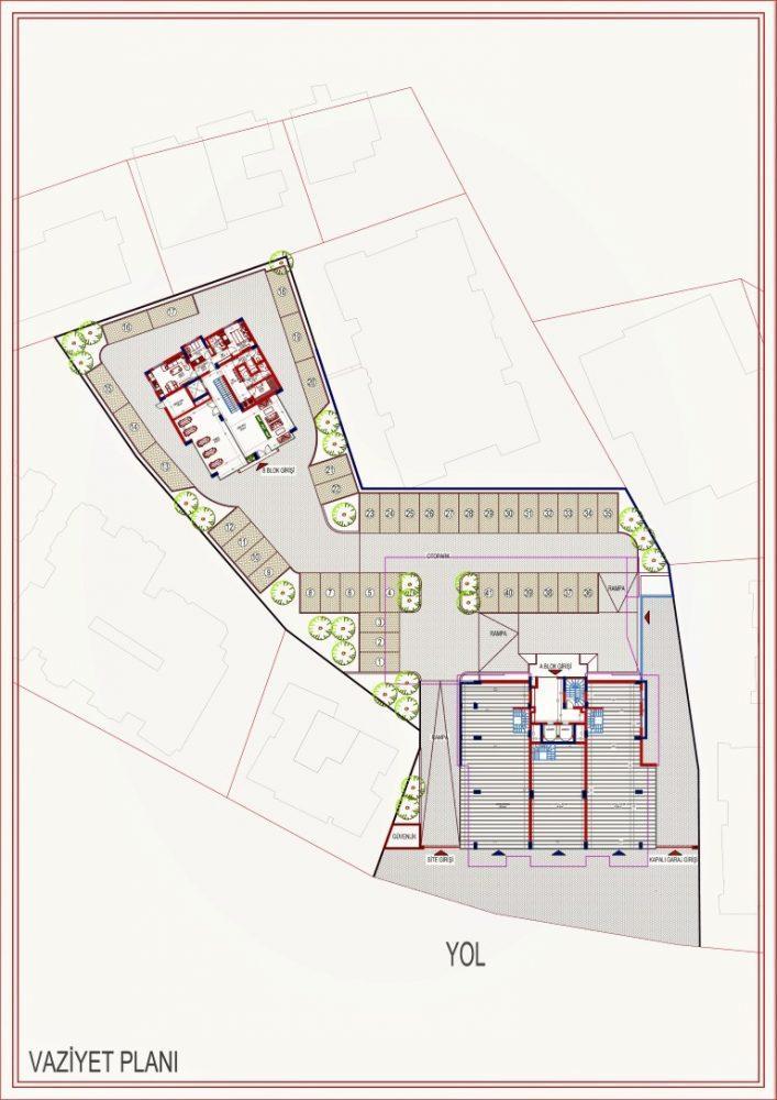 2 квартиры планировкой 2+1 в самом центре Алании - Фото 12