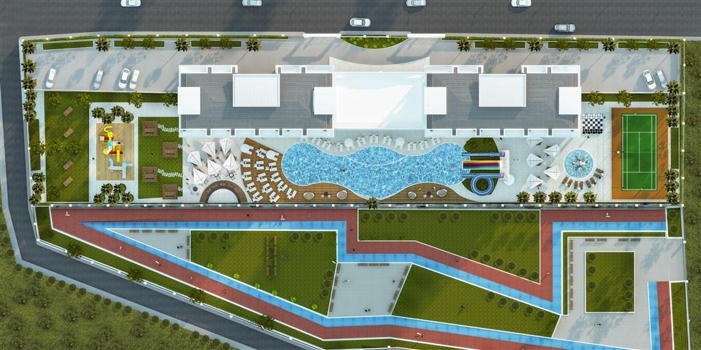 Новый жилой комплекс в районе Авсалар - Фото 6