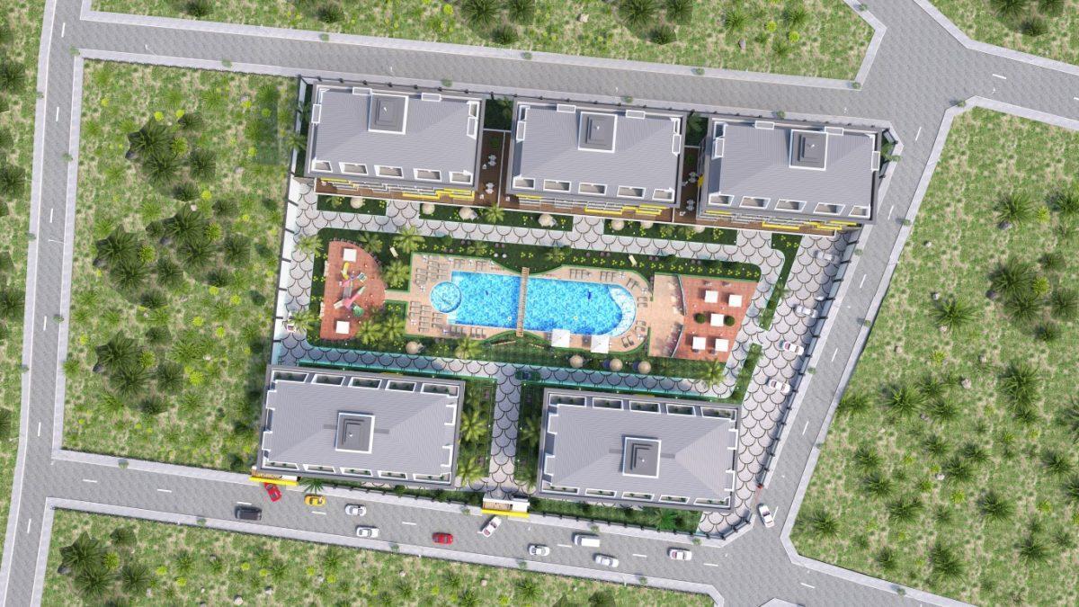 Новый комплекс в одном из элитных районах Алании - Кестель - Фото 10