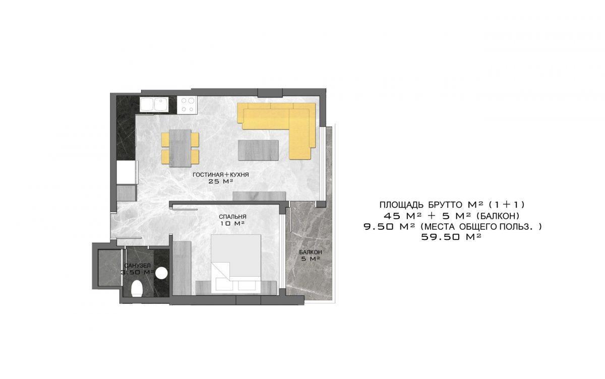 Стильный жилой комплекс с великолепной локацией в самом центре Алании - Фото 20