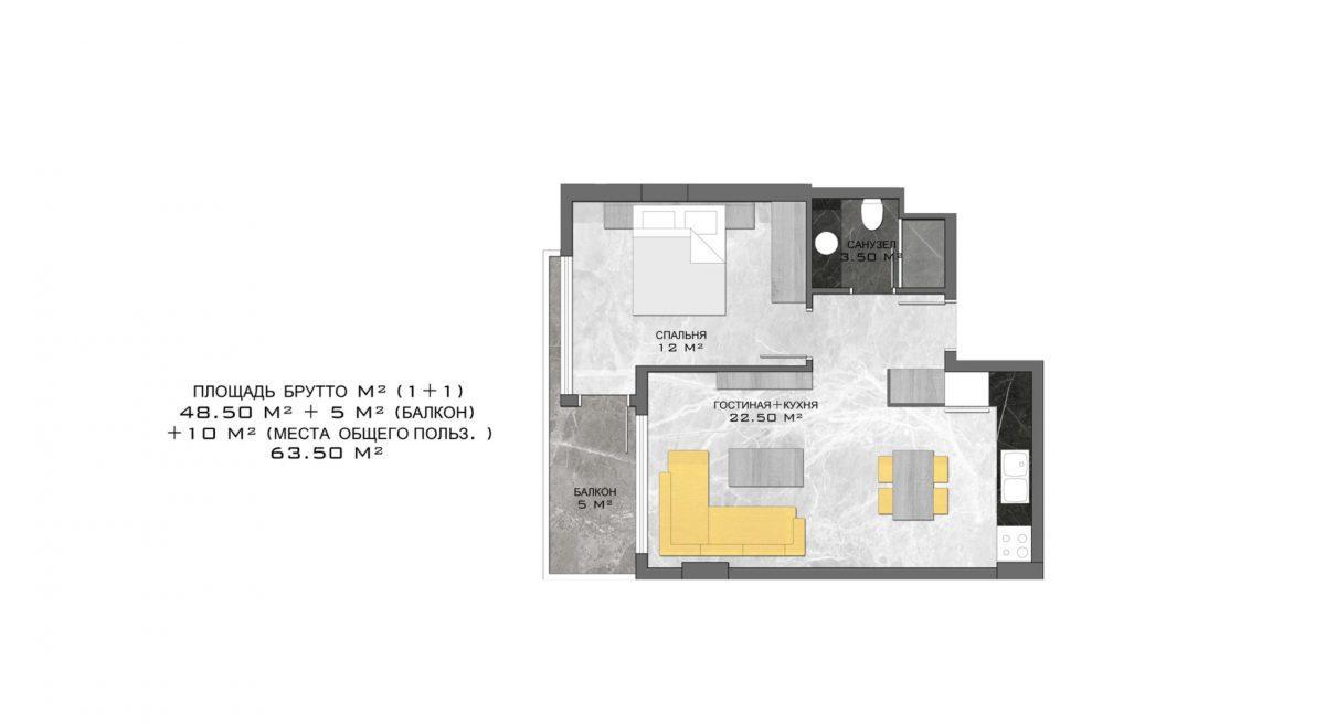 Стильный жилой комплекс с великолепной локацией в самом центре Алании - Фото 21