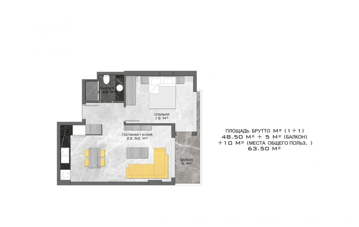Стильный жилой комплекс с великолепной локацией в самом центре Алании - Фото 22