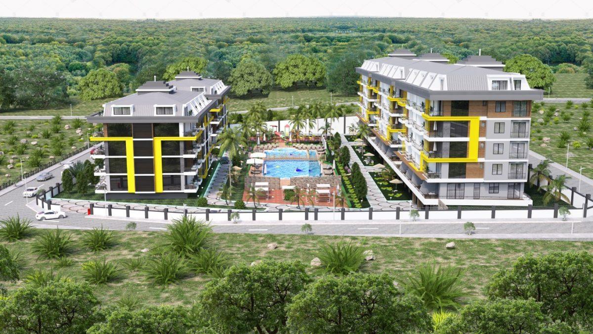 Новый комплекс в одном из элитных районах Алании - Кестель - Фото 3