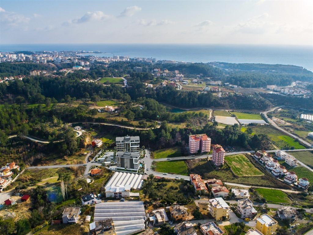 Строительство нового жилого комплекса в экологически чистом районе Авсаллар - Фото 13