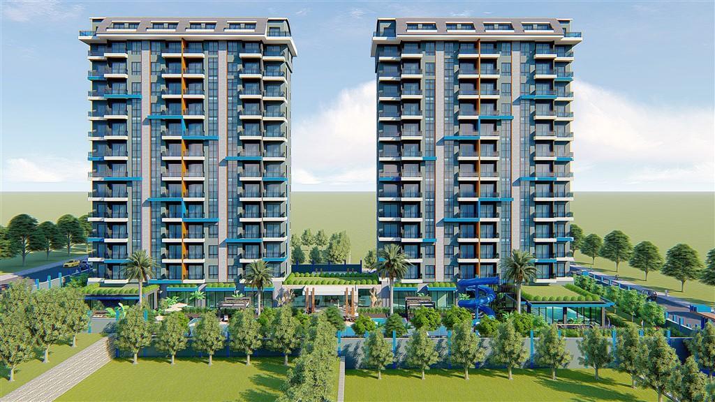 Строительство нового жилого комплекса в популярном районе Махмутлар - Фото 8