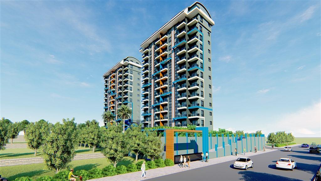 Строительство нового жилого комплекса в популярном районе Махмутлар - Фото 9
