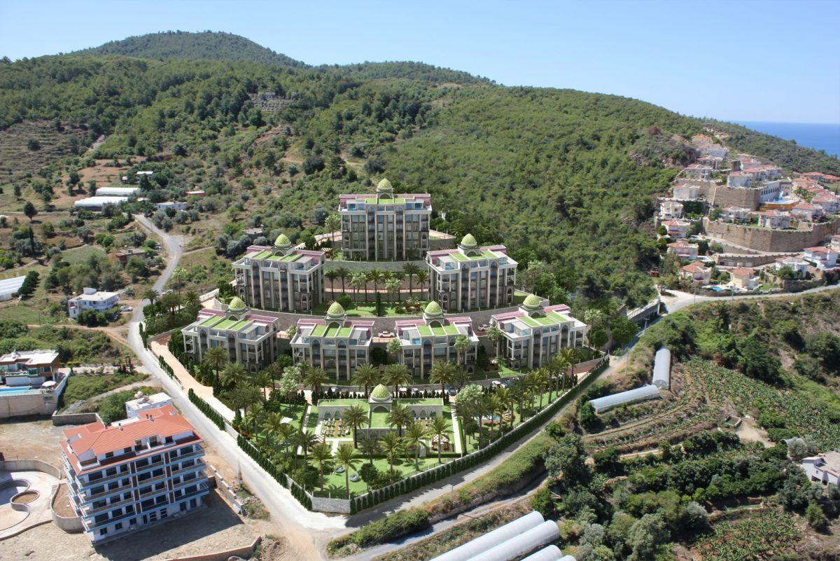 Жилой комплекса премиум-класса в самом живописном районе Алании-Каргыджак - Фото 2