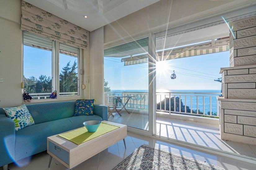 Двухкомнатная квартира с видом на пляж Клеопатра - Фото 15