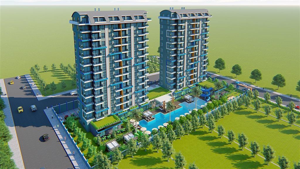 Строительство нового жилого комплекса в популярном районе Махмутлар - Фото 10